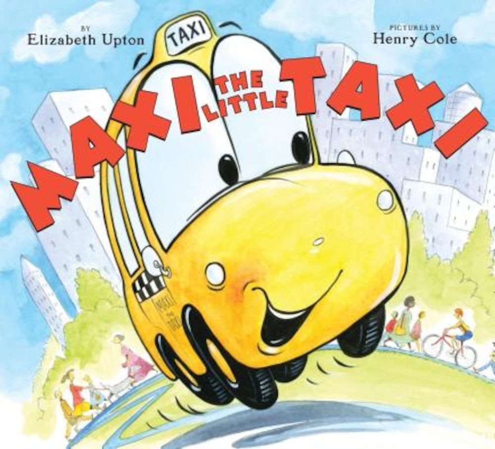Maxi the Little Taxi, Hardcover