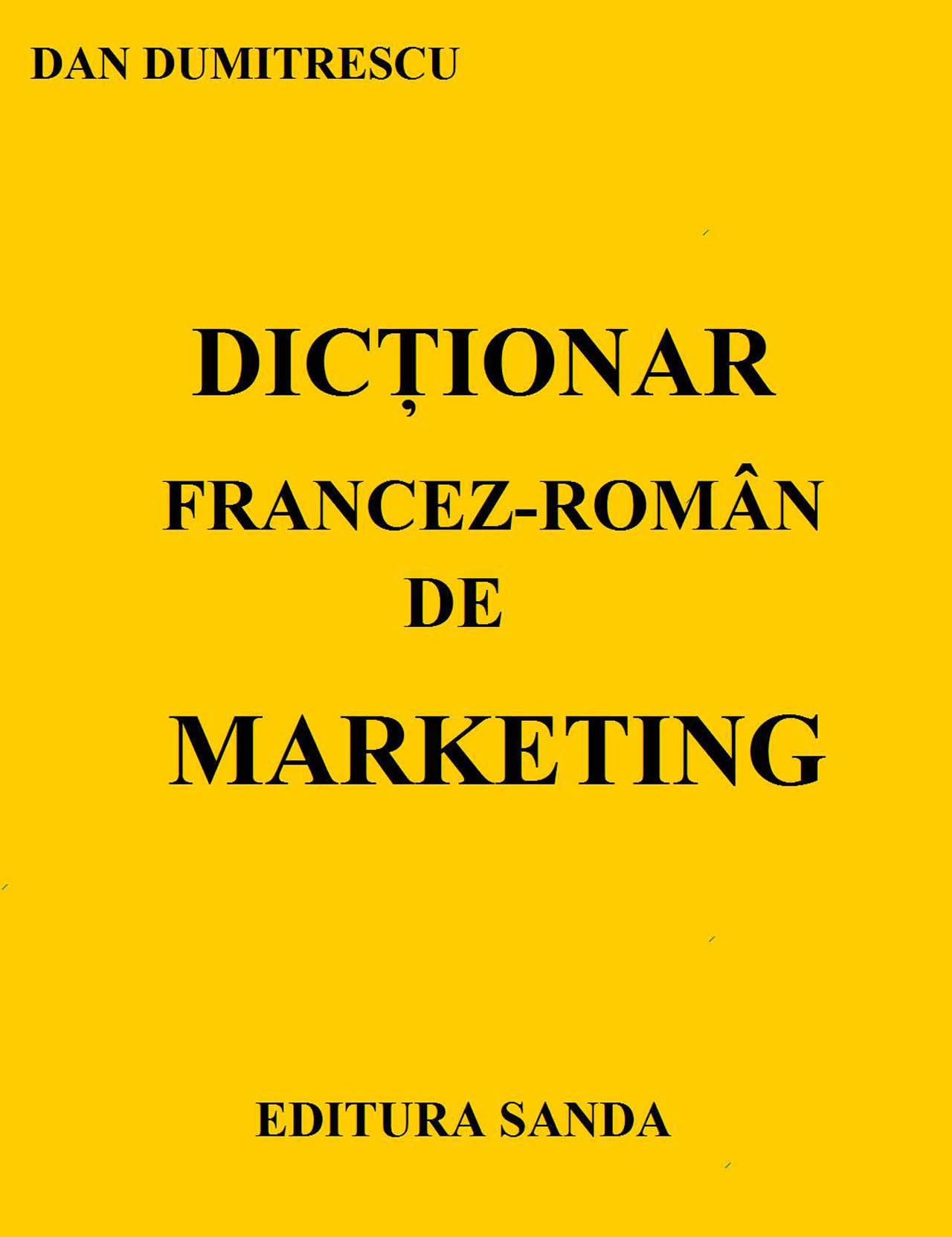 Dictionar Francez-Roman de marketing (eBook)